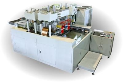 高週波五軸六連板塑膠熔接裁斷機