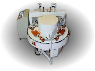 高週波圓盤式熔接機(尿袋)