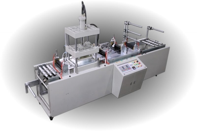 High Frequency Oil Pressure Automatic Servo Feeding Webbing Embossing Machine