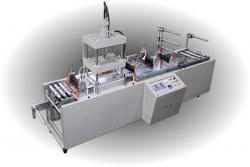 高週波油壓自動伺服送料織帶壓印機