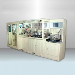 Crystal Hot Air Dual Purpose Base Tube Forming Machine